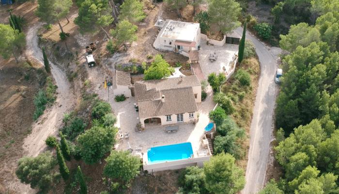Finca Vuyatela pool